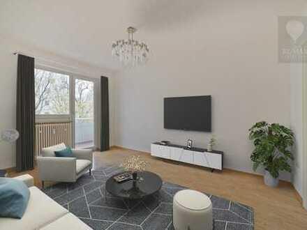 Helle gut geschnittene 4-Zimmerwohnung in ruhiger und verkehrsgünstiger Lage von Neuhausen!