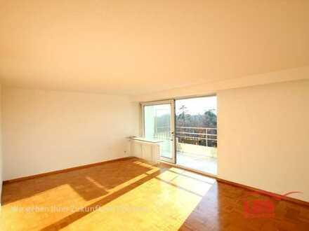 *PERFEKTE LAGE IN KA-WALDSTADT - 3 Zimmer und Balkon*