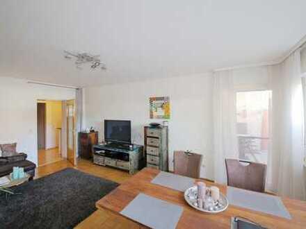 Helle 2-Zimmer-Wohnung mit Balkon in ruhiger Lage