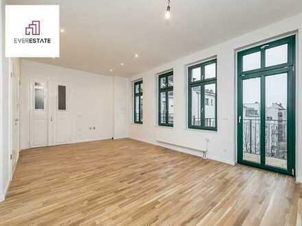 Provisionsfrei und frisch renoviert: 3-Zimmer-Wohnung mit Balkon und großer Wohnküche