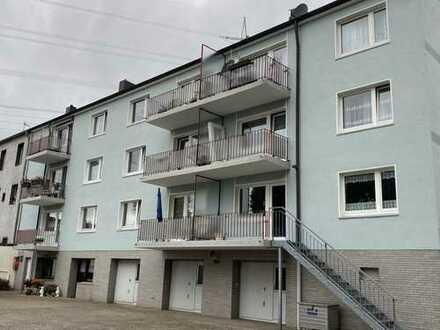 E.- Vogelheim 🏡 gut geschnittene 3 R, KDB mit Süd-Balkon 🏞 mit Aussicht