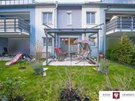 neuwertige Erdgeschosswohnung mit barrierefreiem Zugang und Garten