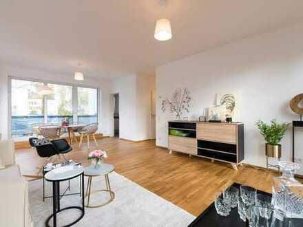 Naturnah leben in zentraler Lage: Großzügige 3-Zimmer-Wohnung mit sonniger Terrasse