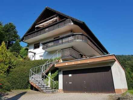 Freistehendes Zweifamilienhaus in idyllischer Aussichtslage in Heiligkreuzsteinach