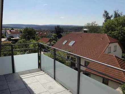 4-Zimmer-Traum-Maisonette-Wohnung - schönste sonnige Aussicht ins Grüne und trotzdem im Ortskern!