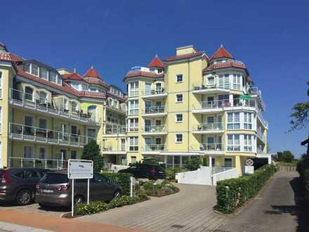 Ferienwohnung in schöner Anlage direkt an der Promenade von Bansin!