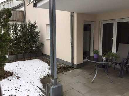 Gepflegte 2-Raum-Wohnung mit Balkon und Einbauküche in Baienfurt