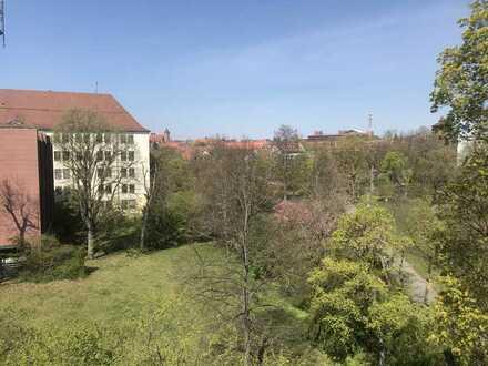3 Zimmer-Wohnung - 88m2 - Nürnberg zentral in Grünanlage