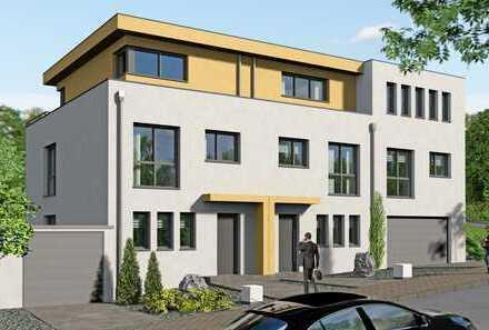 Architektenhaus, Reihenmittelhaus, unterkellert, Baubeginn bereits erfolgt