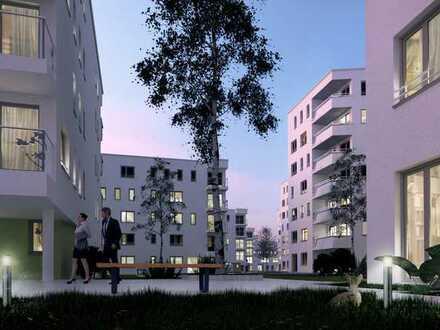 Neubau 3-Zimmerwohnung plus großem Wohnzimmer mit Küche in Pasing
