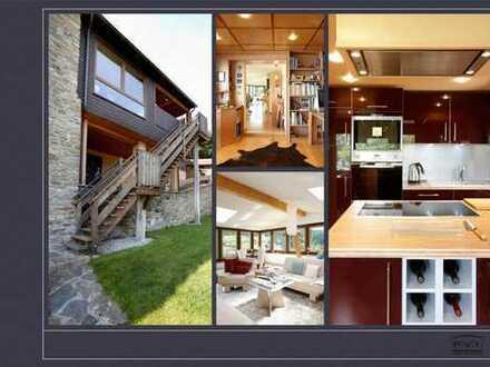 Haus - Superblick, außergew. Grundstück, hochwertige EBK, Sauna...