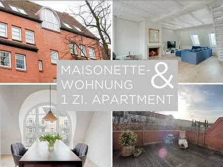 BUSINESS & LIVING IN EPPENDORF ... Maisonette mit Einliegerwohnung