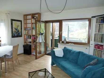 Schöne und ruhige 2 Zi-Wohnung mit West-Balkon im Grünen