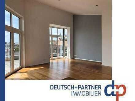 Siegburg-Zentrum: Altersgerechte Wohnung gesucht? 3 Zi. Penthousewohnung mit Michaelsbergblick!