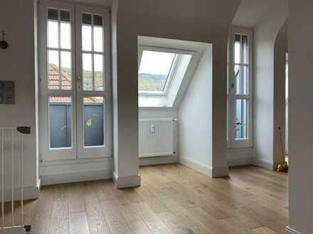 Familienfreundliche 5-Zimmer Maisonettewohnung in bevorzugter Lage HD-WESTSTADT mit Fernblick