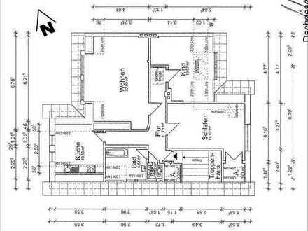 Gepflegte 3-Zimmer-DG-Wohnung mit EBK in Cuxhaven