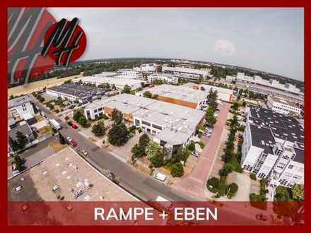 KURZFRISTIG VERFÜGBAR ✓ RAMPE + EBEN ✓ Modernes Lager (1.350 m²) & Büro (650 m²) zu vermieten