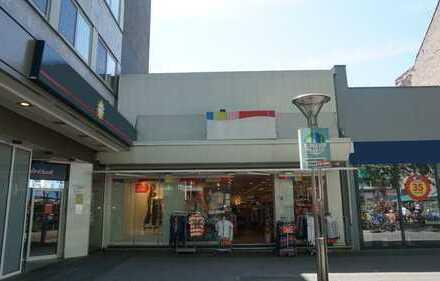 Ladenlokal in der Krefelder Innenstadt