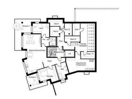 Attraktive Wohnungen in der Lüftestraße Bsp. Whg 1