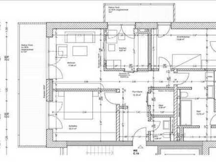 Erstbezug: attraktive 3-Zimmer-Wohnung mit EBK und Balkon in Bruchsal Bahnstadt
