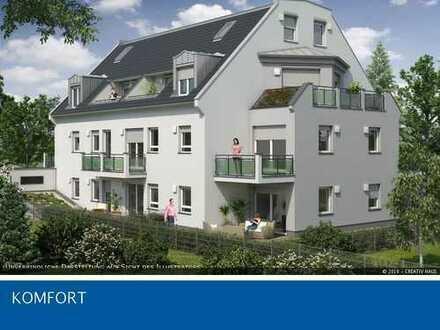 Jetzt Baubeginn: 2- Zi.- Whg. + Hobby, 80m² Garten, U3, 800m Forstenrieder Park
