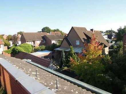 2-Zimmer-Innenstadtwohnung mit Dachbalkon in Lingen/Bögengebiet