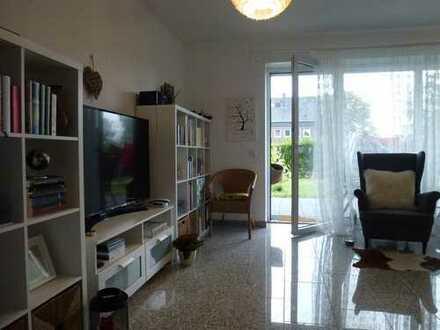 Exklusive 2-Zimmer-EG-Wohnung mit kleinem Garten