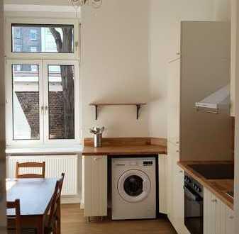 Erstbezug nach Sanierung: stilvolle 1-Zimmer-EG-Wohnung mit EBK in Mannheim