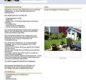 Schöne drei Zimmer Wohnung in Germersheim (Kreis), Wörth am Rhein Ortsteil Maximiliansau