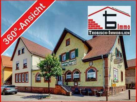 Tourismusperle im Wasgau! Traditioneller Landgasthof mit Entwicklungspotential