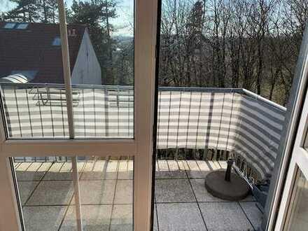 2-Zimmer-DG mit Balkon/EBK und TG in Freising