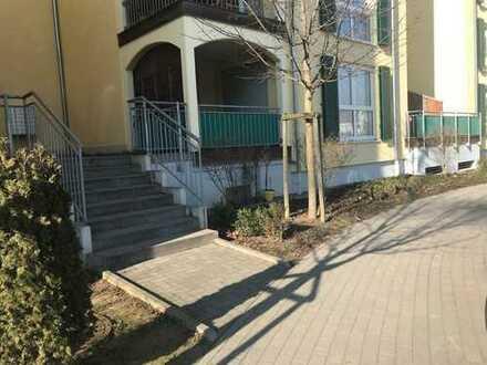 Exklusive, neuwertige 3-Zimmer-EG-Wohnung mit Balkon und Einbauküche in Ludwigshafen am Rhein