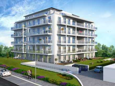 Neubau 3-Zimmer-Wohnung mit Balkon