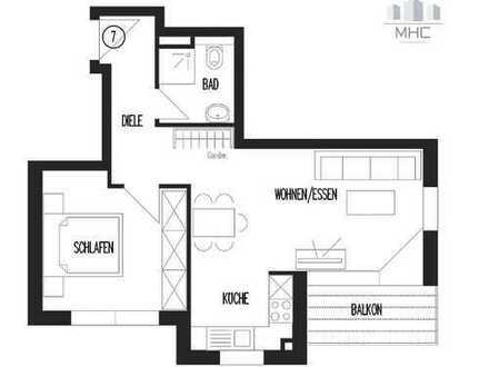 Kernen: 2,5 Zimmer-Wohnung im 1. Obergeschoss als Kapitalanlage oder Selbstbezug