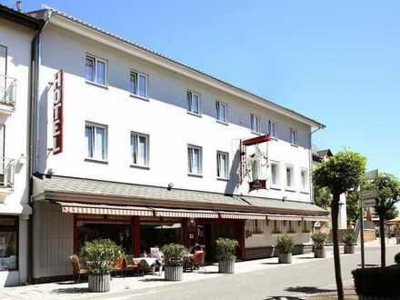 Traditionelles Hotel im Herzen der verkehrsberuhigten Zone von Walldorf