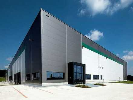 Ca. 40.000 m² projektierte Lager- und Produktionsflächen