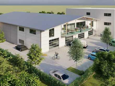 Neubau Erstbezug: Ca. 150 m² moderne Hallenfläche im Gewerbegebiet Achalaich