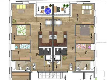 Erdgeschoss - Wohnung 01