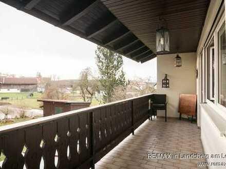 Moderne Wohnung mit großem Garten im idyllischen Ostallgäu