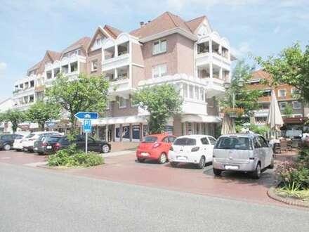 Zentrum! 2 ZKB Wohnung mit Balkon auf 2 Ebenen an der Flaniermeile von Bad Zwischenahn!