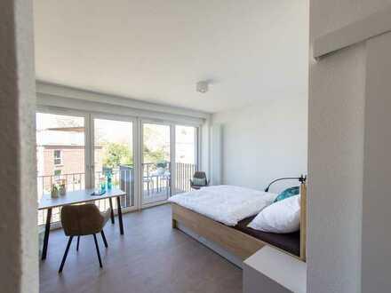 Apartment, 48 m², Terrasse/Balkon, All-inclusive, voll möbliert, Gym/Lounge/Dachterrasse
