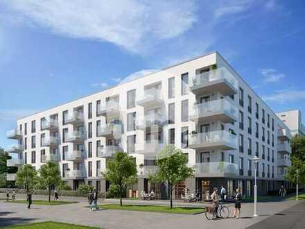 Ladenfläche im neuen HAFENTOR AHOI am Lindenauer Hafen | veredelter Rohbau (Ausbau durch Mieter)