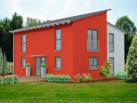 Neubauprojekt! Zweifamilienhaus mit großem Süd-Grundstück! Sehr schöne Lage! Stein auf Stein!