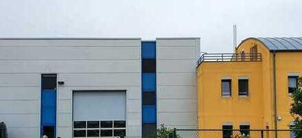 Frei werdende Produktionshalle mit Büro und Betriebsleiterwohnung