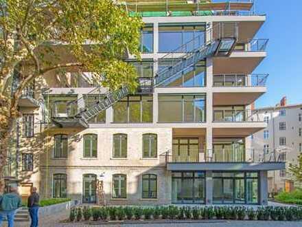 sehr schöne 4-zi-maisonette-loft-garten-whg mit großer terrasse u. EBK