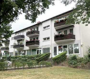 Wohnen in Schwachhausen: gepflegte 2-Zi-EG-Wohnung in exklusiver Lage