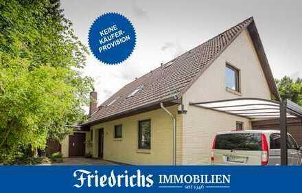 Wohnhaus (alternativ ELW im OG möglich) mit Garage und Carport in ruhiger Lage in Bad Zw´ahn/Ohrwege