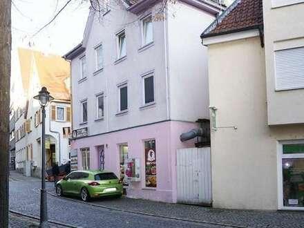 PREIS AUF ANFRAGE - Wohn- und Geschäftshaus in Göppingen-Zentrum