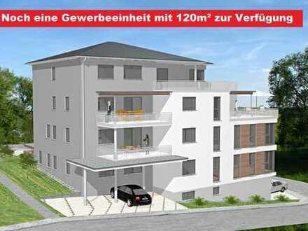 Büro 120m², Neubau in bester zentraler Lage, mit Aufzug rollstuhlgerecht, kompl. barrierefrei