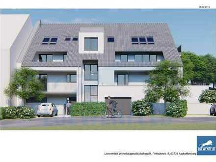 HAIBACH ERSTBEZUG 3-Zimmer Wohnung mit Dachloggia